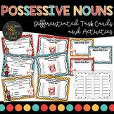 Possessive Nouns Task Cards and Activities