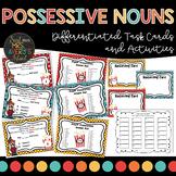 Grammar:  Singular and Plural Possessive Noun Task Cards