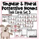 Singular and Plural Possessive Nouns Task Cards, Extra Practice, and More