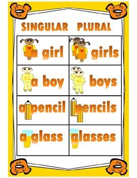 Singular and Plural Poster