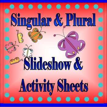 Singular and Plural (PowerPoint Presentation & Worksheets)