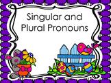 Singular and Plural Pronoun PowerPoint