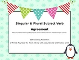 Singular and Plural Subject Verb Agreement