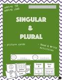 Singular and Plural (adding -es/-ies)