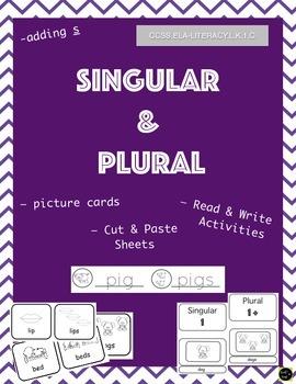 Singular and Plural (adding s)