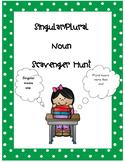 Singular and Plural (s and es) Noun Scavenger Hunt