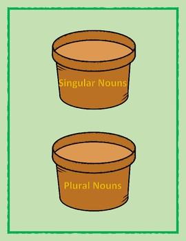 Singular and plural bundle Grammar center