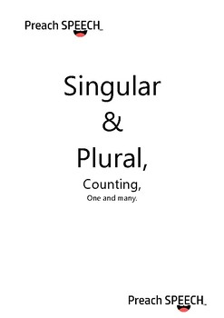 Singular and plural - language and numeracy