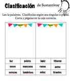 Singular o plural worksheet singular or plural