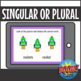 Singular or Plural Digital Boom Cards Distance Learning