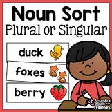 Singular or Plural Noun Sort