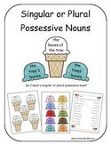 Singular or Plural Possessive Nouns ( Ice Cream Cones)