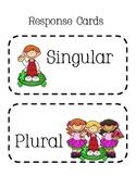 Singular or Plural Response Cards