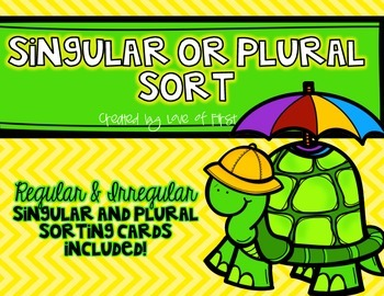 Singular or Plural Sort