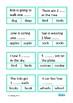 Singular or Plural Vocabulary Clip Cards, Autism, Special Education, ESL,