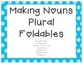 Singular to Plural Nouns Foldables