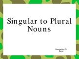 Singular to Plural Nouns Power Point Presentation