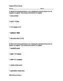 Singular to Plural Practice Worksheet - Beginner Level Latin