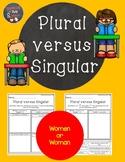 Singular verse Plural (Women or Woman)