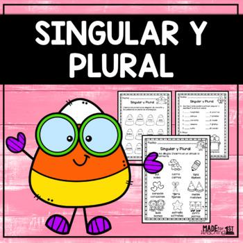 Singular y Plural - Spanish Worksheets