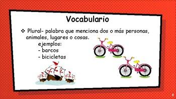 Singular y plural