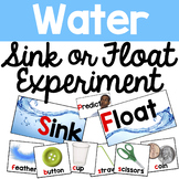 Sink Float Activity Materials - Distance Learning (Science)