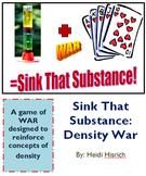 Sink That Substance: Density WAR