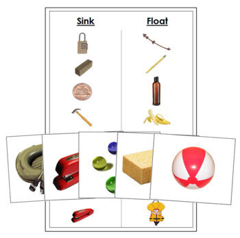 Sink and Float Cards