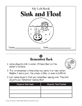 Sink and Float (Physical Science)