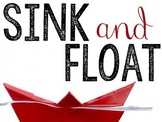 Sink and Float Science Activities Bundle