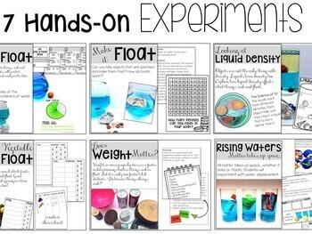 Sink and Float Science Activities Bundle