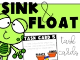 Sink and Float Task Cards (With Digital Option)