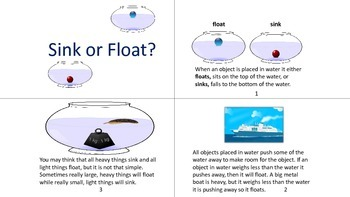 Sink or Float