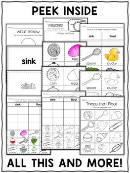 Interactive Activities - Sink or Float