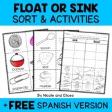 Sink or Float Sort Activities