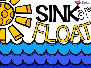 Sink or Float {A Science Unit for Little People}