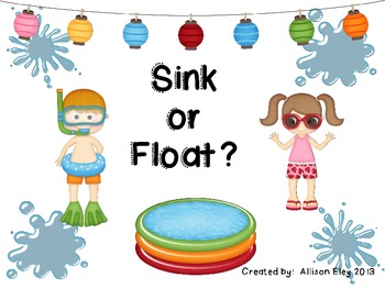 Sink or Float Activity