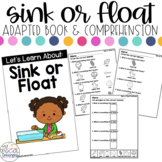 Sink or Float Adapted Book & Comprehension for Special Education
