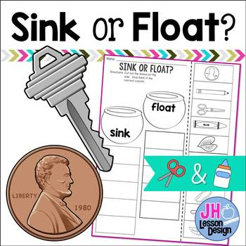 Sink or Float? Cut and Paste Sorting Activity