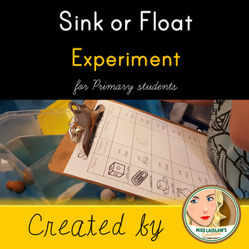 Sink or Float Experiment for Early Primary Students