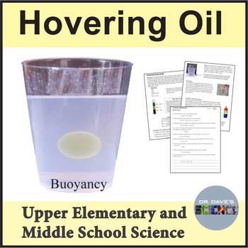 Sink or Float: Hovering Oil