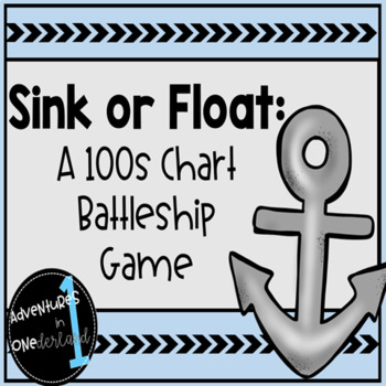 Sink or Float: Hundreds Chart Battleship