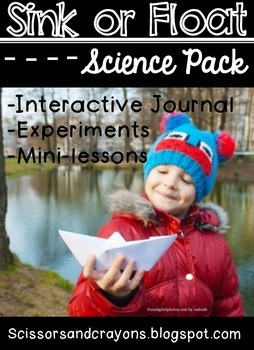 Sink or Float Interactive Notebook and Experiment Science Pack