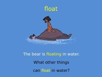 Sink or Float Interactive PPT