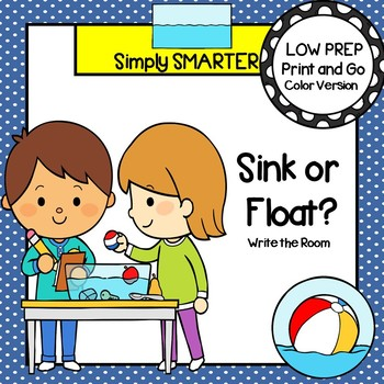 Sink or Float?:  LOW PREP Write the Room
