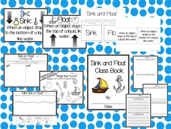 Sink and Float: A Science Unit