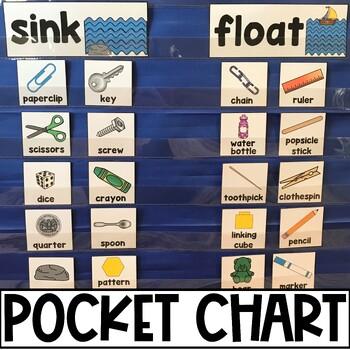 Sink or Float? Pocket Chart Sort & Recording Sheets