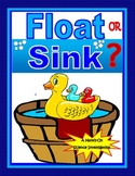 Sink or Float Primary Science Investigation Lab