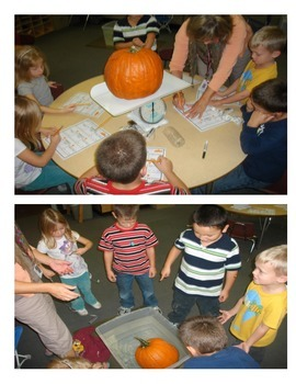 Pumpkin - Fall Measurement Activity