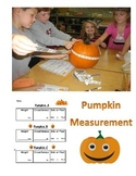 Pumpkin - Fall Measurement Activity